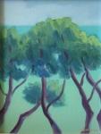 Pine trees, Bandol